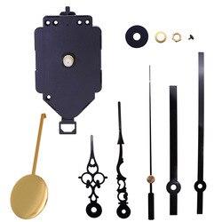 DIY Wall Clock Pendulum Movement Mechanism with Hands Quartz Repair Shaft Also for Craft Clock Frameless Picture Floor Clock