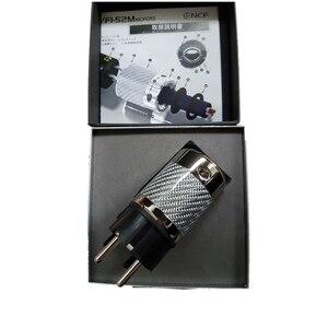Image 5 - HiFi Schuko Plug Furutech FI E50 NCF (R) FI 50 (R) Power Connector  Adapter Plug Rhodium  high end box 15A 125V
