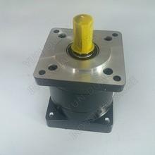 Ratio 36 :1 Nema32 80mm  Planetary Gearbox Speed Reducer output Shaft 19mm Carbon steel Gear for Servo Stepper Motor