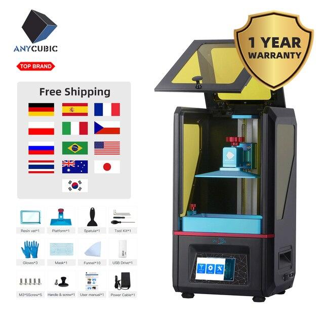 ANYCUBIC 3D מדפסת פוטון SLA בתוספת גודל UV מדפסת LCD מדפסת Off קו הדפסת Impressora Impresora UV שרף 3d דרוקר