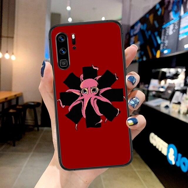 RHCP Rock métal bande coque de téléphone pour Huawei P Mate Smart 10 20 30 40 Lite Z 2019 Pro noir cellule Tpu étanche jolie tendance Funda