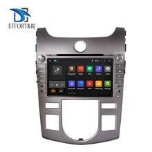Autoradio Android, Octa Core, 4 go RAM, Navigation GPS, lecteur multimédia DVD, unité centrale pour Kia Cerato/Forte Auto A/C (2008 – 2012)