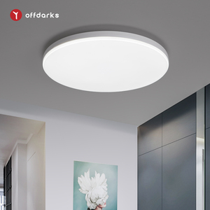 OFFDARKS LED ceiling light 6000 K natural white 12W/24W/36W, recessed ceiling lamp for bedroom, corridor, kitchen