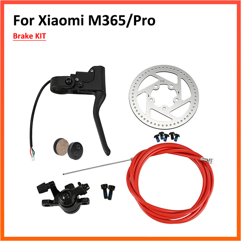 Brake Lever Disk Break Cabel One Kit Set for Xiaomi Mijia M365 Electric Scooter Parts Replacement