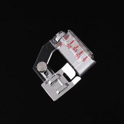 Sewing Machine Presser Foot Wrapped Edge Presser Feet Bag Strip Multi-function Adjustable Width Household Home DIY Applique