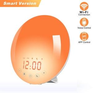 Wifi Smart Wake Up Light Alarm