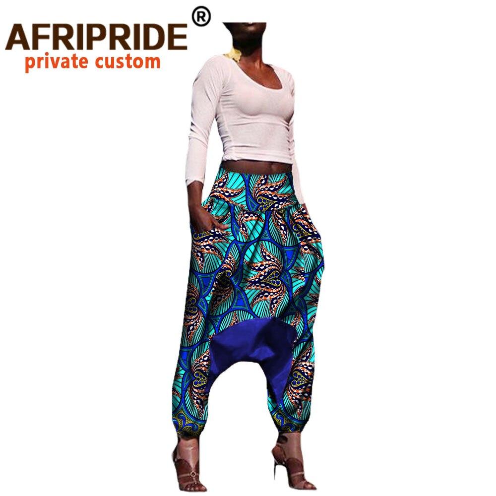 Pantalones Estampados De Estilo Hip Hop Para Mujer Ropa Africana Tela Dashiki Ankara Pantalones De Primavera De Algodon Batik Con Cera Al Tobillo A722109 Bazin 2020 African Pants African Women Printspants For Women