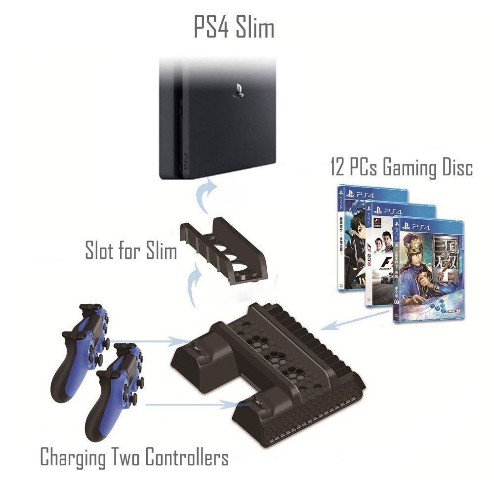 Зарядное устройство для sony ps4 slim pro игровая консоль playstation