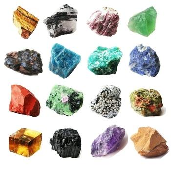 Kamień naturalny kwarc różany fluoryt ametyst apatyt kryształ szorstki kamień surowy kamień szlachetny gatunek minerału nieregularne uzdrawianie reiki tanie i dobre opinie