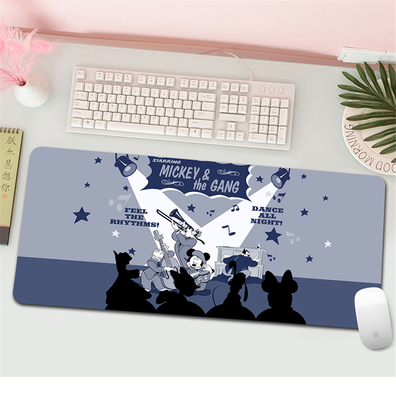 Mickey Gaming Mouse Pad Large Mouse Pad 70x30cm Gamer Computer Mousepad Big Mouse Mat  Carpet For keyboard Desk Mat Mause