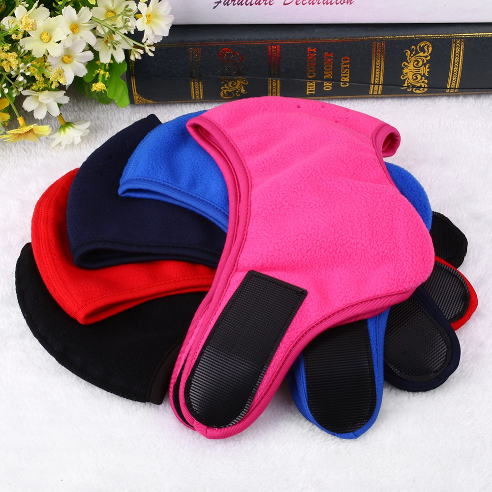 Mask Ear Cold-resistant Fleece Mask Color: Blue