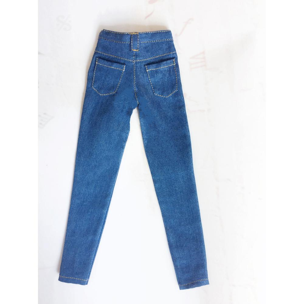 Jeans Pants For 1//6 1//4 MSD 1//3 YOSD BJD Doll Dollfie Outfit