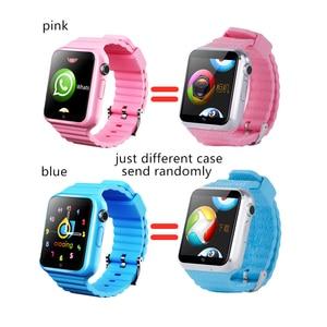 Image 4 - Relojes inteligentes 3G para niños, con Wifi, GPS, LBS, tarjeta de memoria SD, WhatsApp, Facebook, reproducción de música, seguimiento, reloj infantil V5W/V7W
