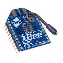 1個のxbee S2Cモジュール輸入オリジナルシリーズのアップグレードS2 S2Cジグビーモジュール無線データ伝送モジュール