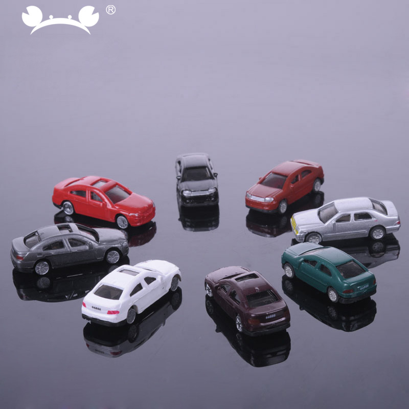 30pcs/lot Mixed 1:150 N Scale Model Car Railroad Model Building Train Layout Railway Modeling