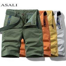 Short Cargo militaire pour hommes, décontracté, longueur aux genoux, coton solide, pantalons courts tactiques pour hommes, grande taille, survêtement