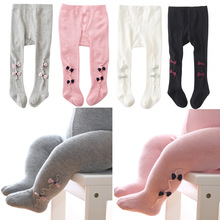Newborn Baby Tights Kids Children Stockings For Baby Girls Stocking Solid Color Baby Girls Pantyhose Infant PP Tights 0-2Y