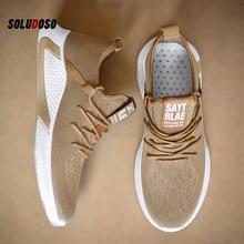 Luxury Brand 2020 New Cheap Men Harajuku Lazy Shoes Breathab