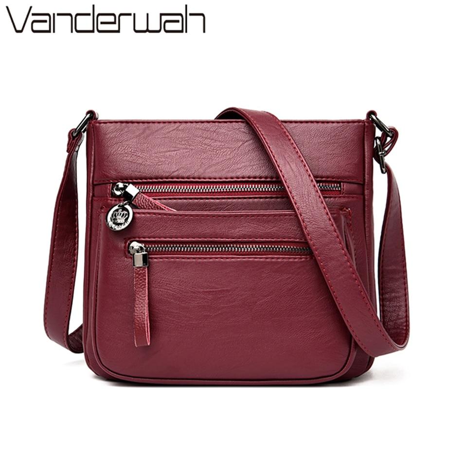 New Soft Leather Luxury Handbags Women Bags Designer Handbags High Quality 2020 Lady Crossbody Shoulder Bag For Women Sac A Main