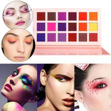 Make Up 18 Colors Pigment Matte Shimmer Eyeshadow Powder Neon Nail Lasting For Halloween