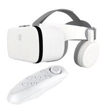 Mới VR 3D Kính Thực Tế Ảo Mini Bìa Cứng Mũ Bảo Hiểm Z6 Gấp Gọn Kính Tai Nghe BOBO VR Kính