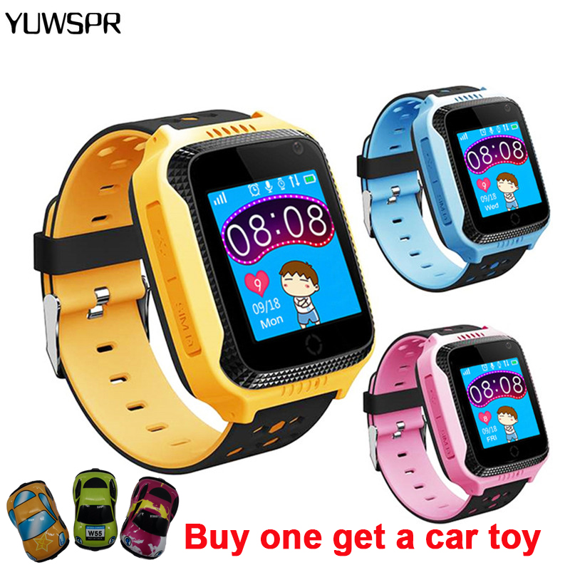 Kids Watch Camera Flashlight Location Gps-Tracker Children Gifts with Remote-Listening