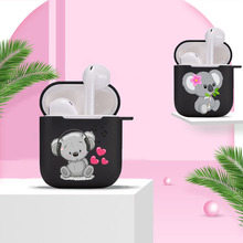 Case for Apple Airpods Cover Earphone Protective-Accessories The 2-1 Charging-Box Animal