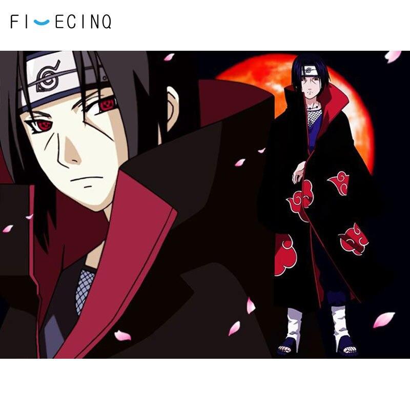 Naruto Sasori Akatsuki Headband Cosplay Props Ninja Japanese Anime Black
