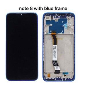 Image 4 - ЖК дисплей для Xiaomi Redmi Note 8 8T 8 Pro, экран 6,3 дюйма + сенсорный дигитайзер в сборе, ЖК дисплей для Redmi Note 8 8T 8 Pro