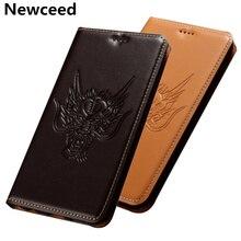 Деловой стиль, натуральная кожа, откидная крышка, слот для карт, держатель, Funda для Nokia 7,2, сумка для телефона, чехол для Nokia 7,1/Nokia 7,1 Plus, чехол