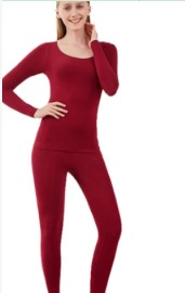 37 Degree Constant Temperature Thin Winter Thermal Underwear For Women Warm Suit Sexy Bodycon Female Second Skin Long