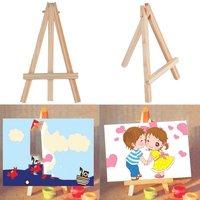 子供ミニ木製イーゼルアーティストアート絵画名刺スタンドディスプレイホルダー子供知育玩具