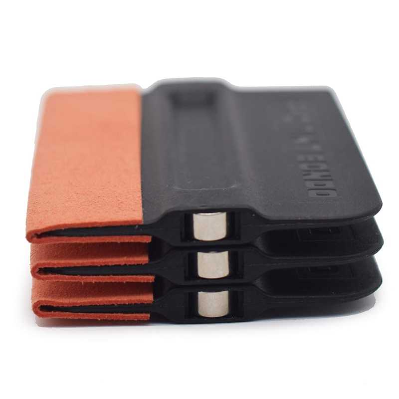 3Pack Magnet Suege Merasa Edge Squeegee Vinyl Wrap Peralatan Aplikasi Film Squeegee Warna Alat Kit untuk Mobil Vinyl Wrap, window Tin