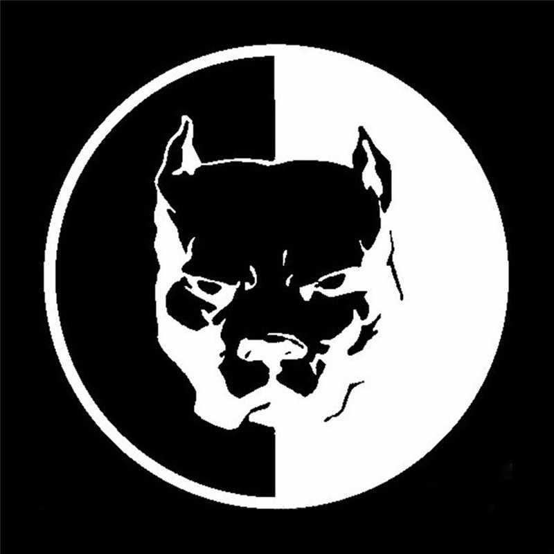 Autocollant de voiture imperméable Pitbull chien Bulldog autocollant voiture décalcomanie voiture style Auto produits voiture accessoires intérieur livraison directe