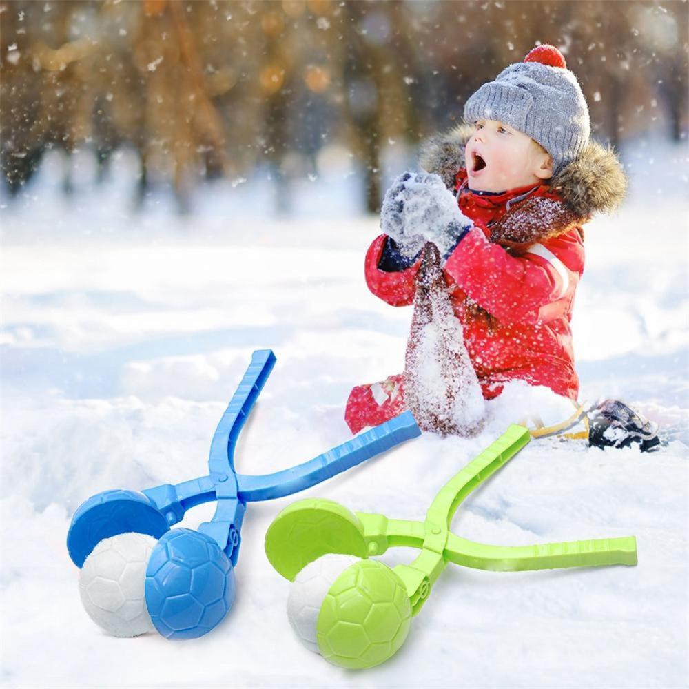 Clip de Boule de Neige en Forme de Canard Cartoon Boule de Neige Fabricant Boule de Neige Clip Hiver Jouets de Neige en Plein air pour Enfants