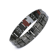 Healing Magnetic Bracelet 316L Stainless Steel 3 Health Care