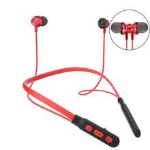 Bluetooth Wireless Headphone Neckband Magnetic Bass Sport Earphone Handfree Earb
