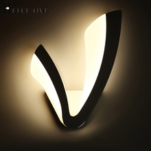 Modern LED Wall Lamp For Living Room Dining Room Bedroom Kitchen Acrylic LED