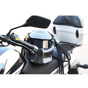Image 5 - Carbon Fiber Full Face Helmets Motorcycle Predator Helmet Certification High Quality Casco Depredador Clear Colorful Lens