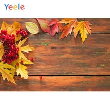 Autumn Backdrop Leaves Wood Board Baby Shower Children Birthday Photography Background For Photo studio Photocall Photophone allenjoy photography backdrop leaves wall green nature baby shower children background photo studio photocall