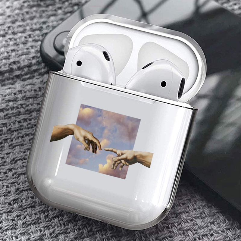 Case For Airpods INS Earphone Case For AirPods TPU Earphone Case For Apple Airpods Wireless Bluetooth Silicone Air Pods