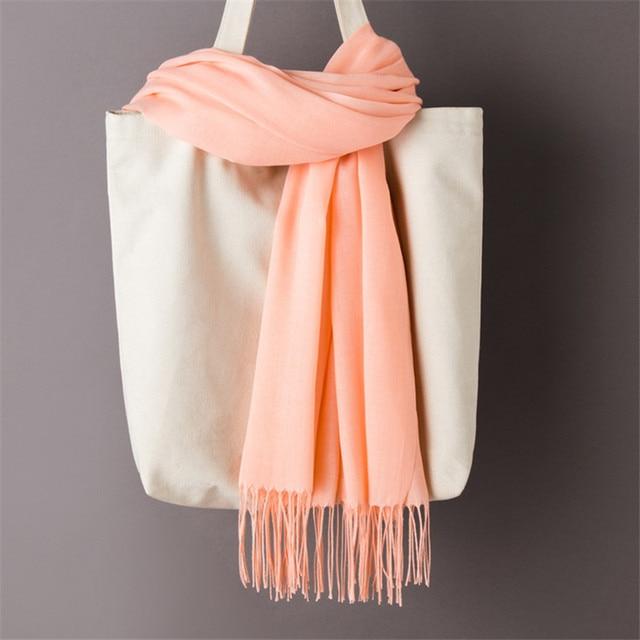 Foulards pour les femmes châles simples 4