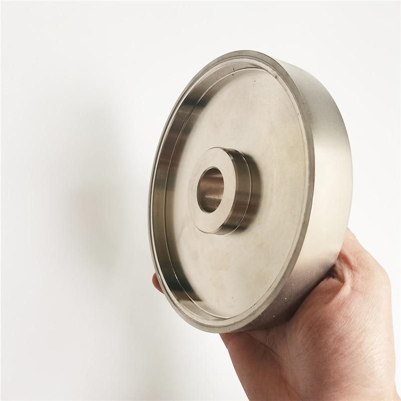 80/180/240/600/800/1000 Grit Grinding Wheel Diamond Diameter 6 inch 150mm High Speed Steel For Metal stone Grinding Power Tool
