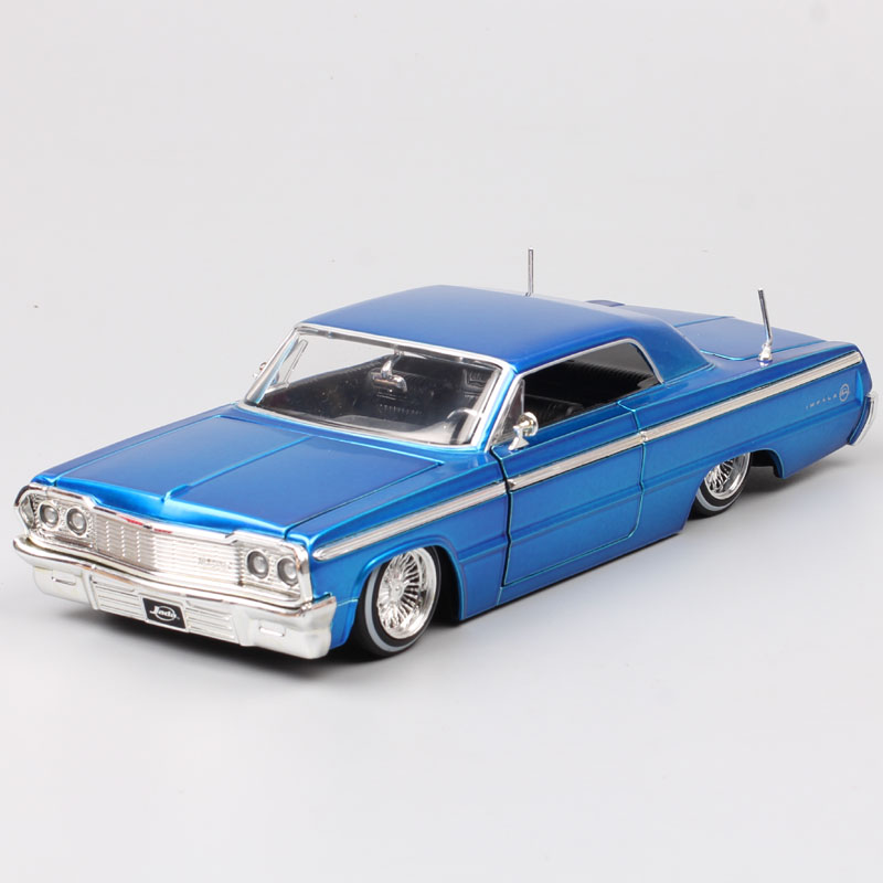 children 1/24 scale big classics Jada 1964 chevrolet IMPALA Diecast Toy Vehicle chevy sports coupe auto car model Replicas hobby