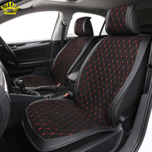 Cushion Car-Seat-Cover Protector Automobile-Seat Universal Luxurious Suit Suede Car-Styling