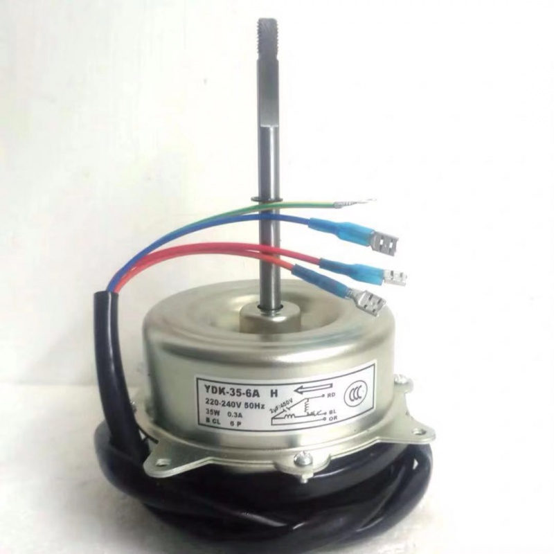 New Good Working For Air Conditioner Fan Motor Machine Motor YDK-35-6A YDK-35-6HG 4 35W Good Working