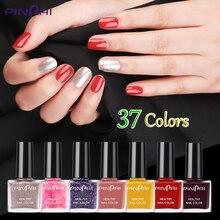 Pinpai 37 Colors Fast Dry Nail Polish Long Lasting Nail Art Varnish Avocado Red Glitter Series DIY Manicure Nails Lacquer 6ml