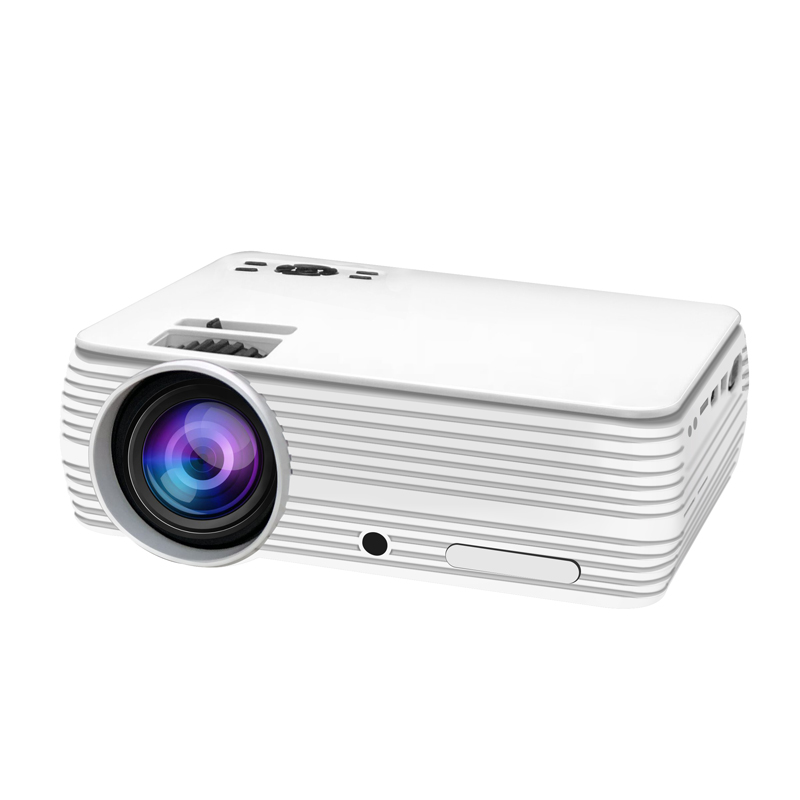 Portable X5 Mini LED Projector Android WIFI Cinema Movie Video HD Home Theater Office Multimedia Beamer Proyector EU Plug
