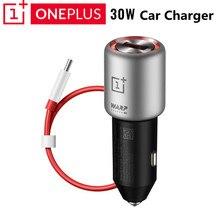 מקורי OnePlus עיוות תשלום 30 רכב מטען האיחוד האירופי בריטניה קלט 12V 24V 4.5A פלט 5V 6A מקסימום עבור OnePlus 5 / 5T / 6 / 6T / 7/7pro/8