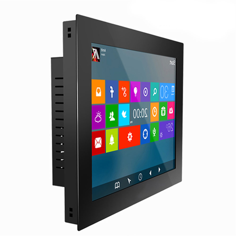 23.6 Inch Industrial Computer All In One PC Tablet PC  Resistance Touch Screen Bulit-in Wifi Win7 XP System Buckles Mounting